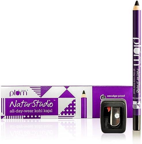 Plum Natur Studio All Day Wear Kohl Kajal With Free Sharpener, 1.2g product image
