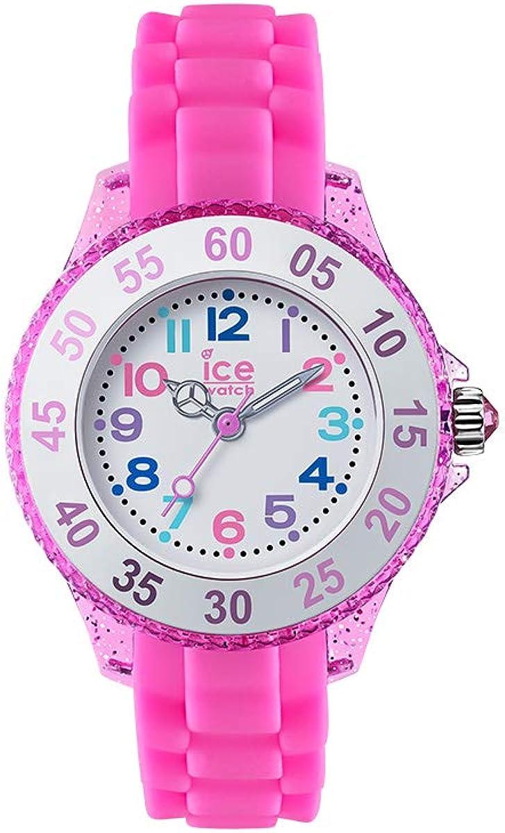 ICE-WATCH Ice Princess Pink - Reloj Rosa para Niña con Correa de Silicona, 016414 (Extra Small)