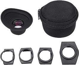 Tosuny DSLR Viewfinder LCD Viewfinder, Lightweight Folding Camera 1.3X Magnifier Viewfinder Eyecup Adapter for DSLR Cameras