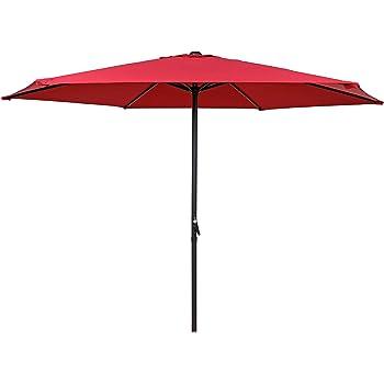 HERMO ROUN - Sombrilla para mesa de patio o jardín, 274, 3 cm de ...