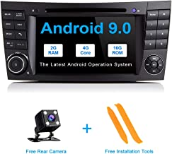 TOOPAI Android 9.0 Car Radio for Mercedes Benz E-Class W211 CLS W219 Car Stereo GPS Navigation Car GPS Media Player with 7 Inch Touch Screen Support Screen Mirror WiFi OBD2 SWC