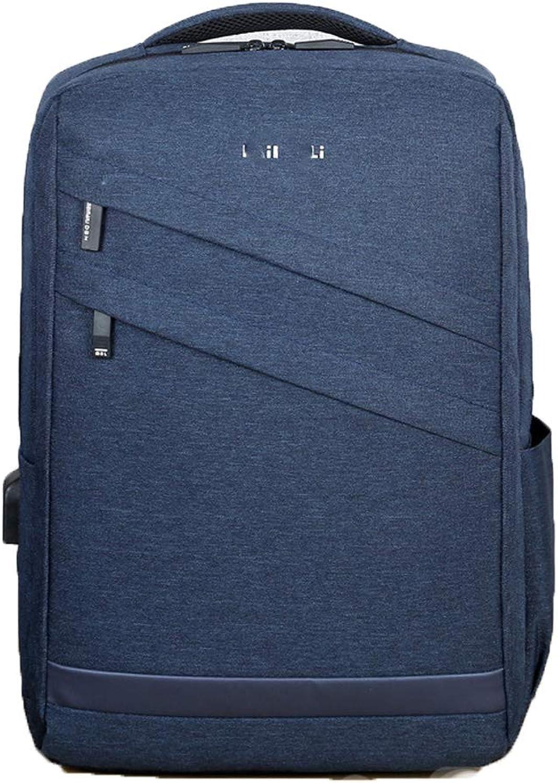 MALPYQ Laptop-Rucksack, Mnner-Rucksack lssige Wanderschultertasche, Mnner-Laptop-Tasche