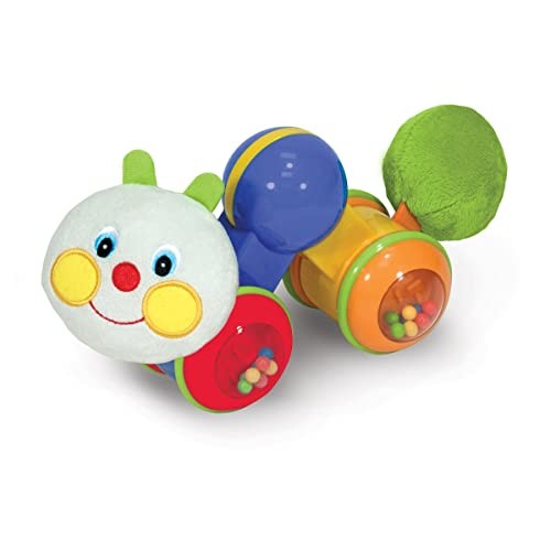 43c25a4f19f Melissa   Doug K s Kids Press and Go Inchworm Baby Toy - Rattles