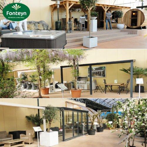 Hochwertige ALU Terrassenüberdachung/Veranda – 550 x 300 (BxT) / Überdachung/Pergola Palram Feria Weiß - 5