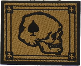 Rogue American Death Card Morale Patch