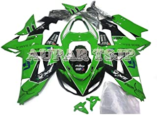 Complete Motorcycle Fairings for ZX10R 2006 2007 Year Injection ABS Plastic 06 07 Motorbike Covers Body Work Panels Kits Green Black