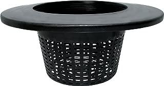 Hydrofarm HG8RDBK Wide Lip Bucket Basket Lid (Case of 25), 8
