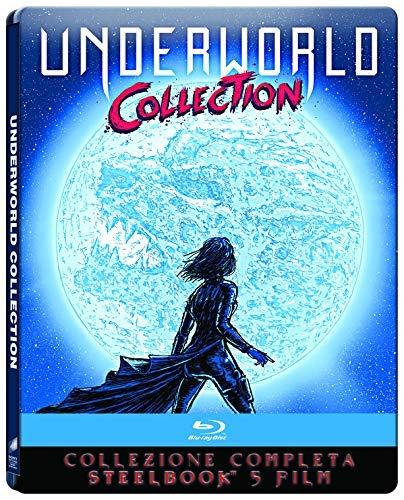 Underworld-Collezione Completa 5 Film (5 Blu-Ray) Steelbook Limited Edition [Import]