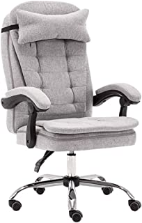 Adjustable office chairs, ergonomic work, director chairs, 175 degree reception, computer study rooms, high-backed linen t...