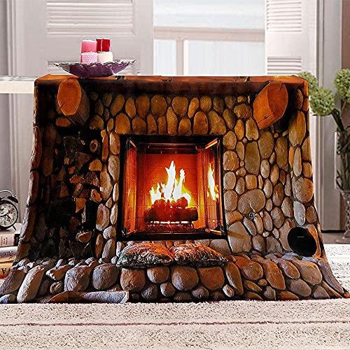 子供たちの毛布 ハロウィーンと火 サイズ: :70×100CM もうふ フランネル フリース 洗える マイクロファイバー あったかい オールシーズン 暖かい おしゃれ 軽量 薄手 暖かい 四季適用秋冬暖かい