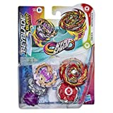Beyblade Burst Rise - Pack Duel Hypersphere Toupies Master Devolos D5 et Forneus F5
