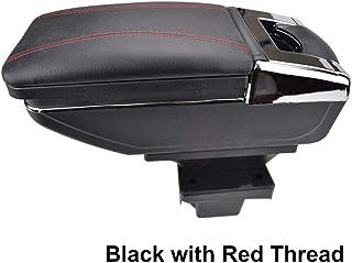 QCYSTBTG para Skoda Yeti 2009 On/Octavia Mk2 2 2005-2012 A5, Consola Central Caja de Almacenamiento Reposabrazos Reposabrazos Reposabrazos Giratorio para automóvil