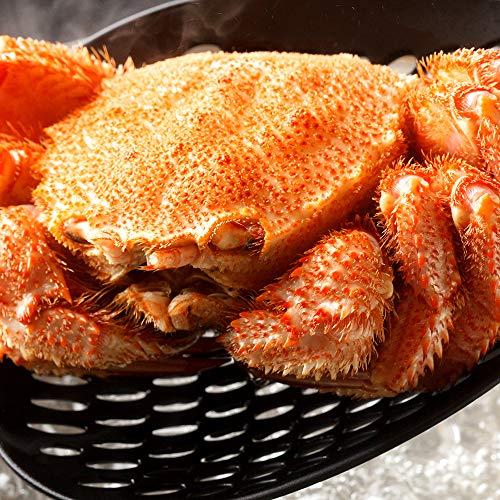 海夢 毛ガニ 北海道産 超巨大デラックスサイズ 極上 蟹味噌たっぷり ボイル済み 天然 毛蟹 約1kg×1尾