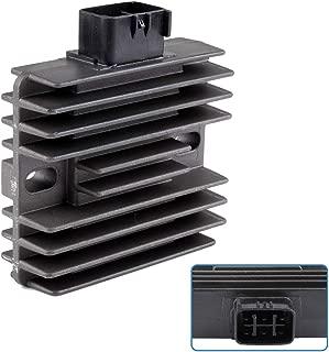 cciyu 6D3-81960-00-00 6D3-81960-00 Voltage Regulator Rectifier Fit for 2006-2012 Yamaha Raptor 700 2006-2008 Yamaha Rhino 450 2004-2007 Yamaha Rhino 660 2009 2012-2013 Yamaha YFZ450