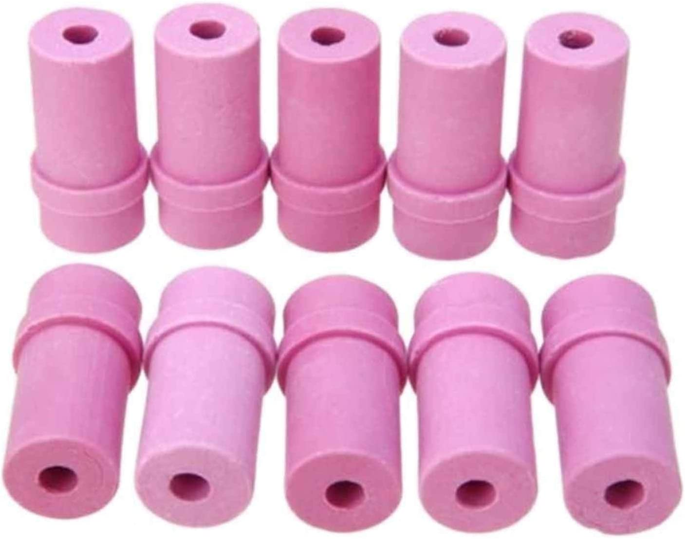 Size : 4mm IINSSDJ Ceramic Sandblast Nozzle Air Sandblaster Tips for Industrial Machinery Parts Metallurgical Foundry Pneumatic Blasting Tools 10pcs