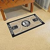 FanMATS Home Indoor Sports Team Logo New Jersey Nets NBA - Alfombrilla de corredor grande de 30 x 137 cm
