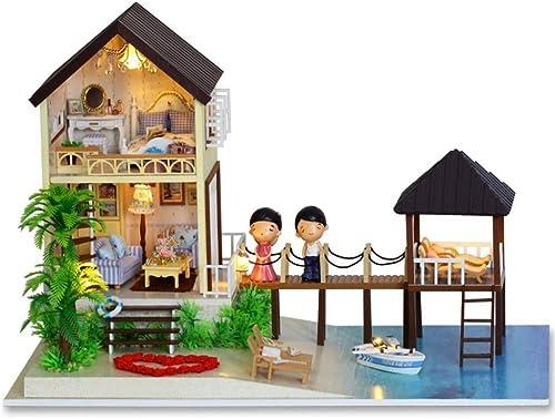 BOQIUTIA DIY Bungalow   Montieren Sie das Haus von Hand Handwerk   Geburtstagsgeschenk   Ausübung F gkeit