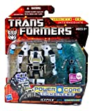Hasbro Year 2010 Transformers Power Core Combiners Series 4-1/2 Inch Tall Robot Action Figure Set - Decepticon ICEPICK (Vehicle Mode: Half-Track) with Mini-Con CHAINCLAW