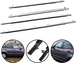 5 Feet KX Car Weatherstripping Door Rubber Seal Horizontal Bulb Trim Seal Weather Stripping for Car Molded 0.925 Bulb Height x 0.53 U Height