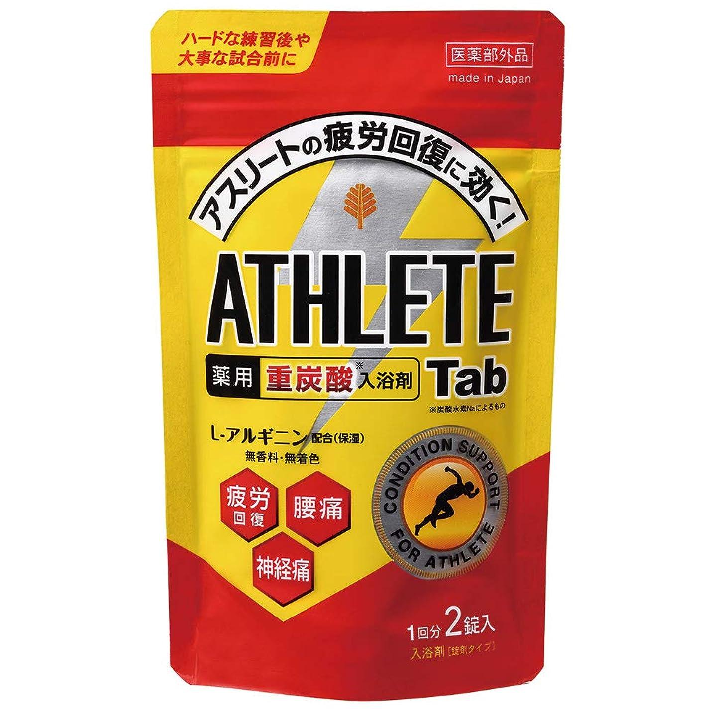 個性宗教的な雪の日本製 made in japan 薬用 ATHLETE Tab2錠x1パック BT-8572 【まとめ買い12個セット】