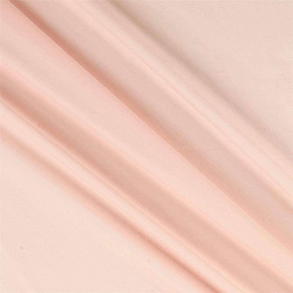 1 year warranty Chiffon Solid Blush Brand new Pink Yard Fabric the by