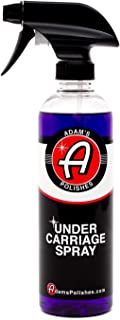 Adam's Invisible Undercarriage Spray 16 oz - Quick and Easy to Use - Turn Your Wheel Wells Invisible - Leaves a Black Satin Finish