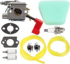 Savior WT-628 Carburetor with Fuel Line for 530071565 530071636 Poulan BC3150 PP031 PP033 PP035 PP136 PPB100