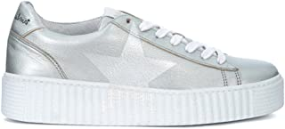 punto de venta barato zapatilla zapatilla zapatilla de deporte Nira Rubens Cosmopolitan en Piel Aluminio con Estrella Madreperla  más vendido