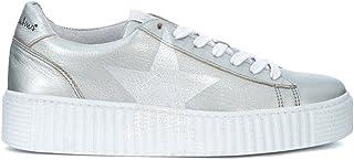 edición limitada en caliente zapatilla zapatilla zapatilla de deporte Nira Rubens Cosmopolitan en Piel Aluminio con Estrella Madreperla  mas barato