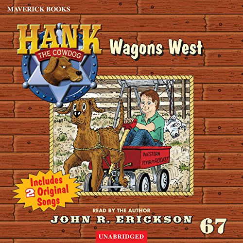 Wagons West audiobook cover art