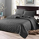 Exclusivo Mezcla 3-Piece Queen Size Quilt Set with Pillow Shams, as...