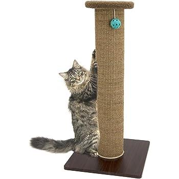 Kitty City Premium Woven Sisal Carpet Scratching Collection, Scratching Post, Scratching Mat, Cave Tunnel