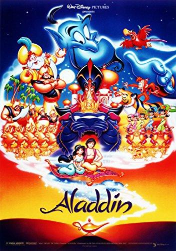 A4Poster Walt Disney Aladdin, VERSAND INNERHALB 24Stunden 1st Class