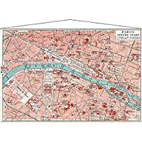 (アートフレーム) TAPESTRY PARIS MAP