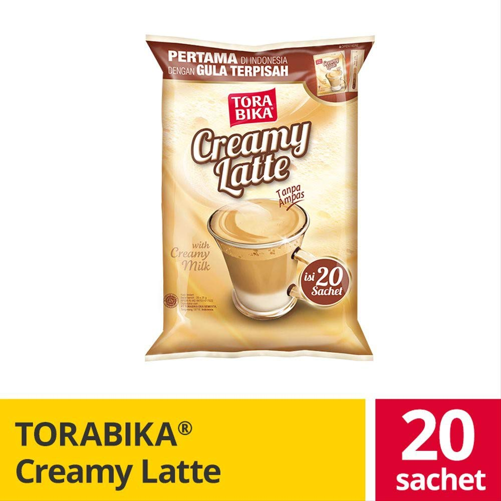 Torabika Creamy Latte 67% OFF Washington Mall of fixed price - Indonesian Coffee with Instant Separated