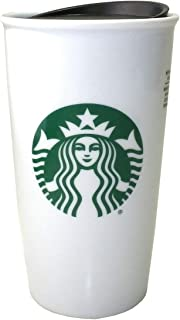 Best white ceramic starbucks travel mug Reviews