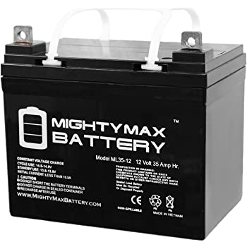 ML35-12 - 12 Volt 35 AH SLA Battery- Mighty Max Battery Brand Product