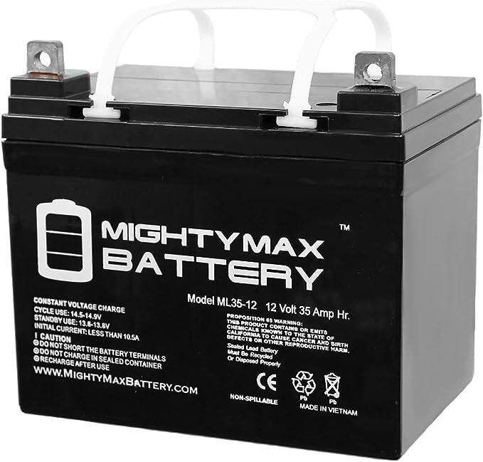 Mighty Max Battery ML35-12 – 12V 35AH U1 Deep Cycle