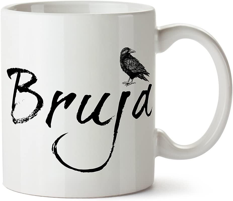 Bruja Magic Raven Crow Dark Coffee Mug 11 Ounce Tea
