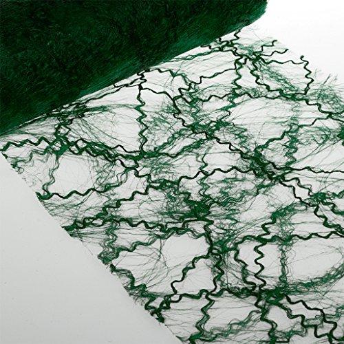 Deko AS GmbH sizo Twist – Vert foncé – 30 cm – Rouleau de 10 m – 68 008 300