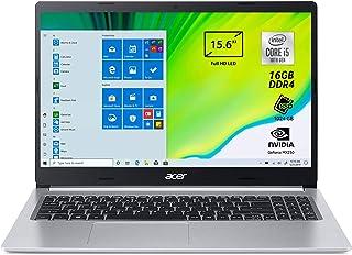 Acer Aspire 5 A515-55-509R Pc Portatile, Notebook con Processore Intel Core i5-1035G1, Ram 8 GB DDR4, 512 GB PCIe NVMe SSD...