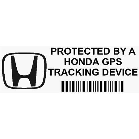 Platinum Place 5 X Ppfiatgpsblk Fensteraufkleber Gps Tracking Device Security Fensteraufkleber 87 X 30 Mm Auto Van Alarm Tracker Auto