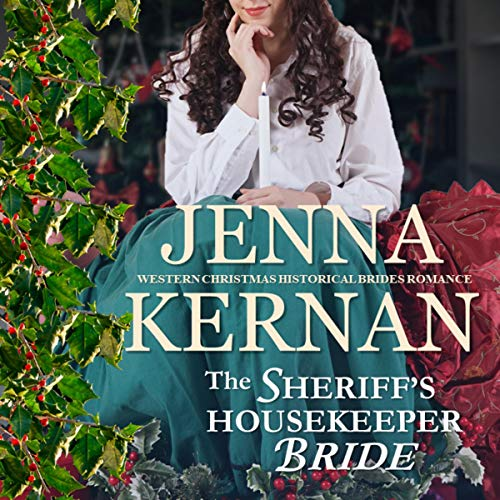 Couverture de The Sheriff's Housekeeper Bride: Western Christmas Historical Brides Romance