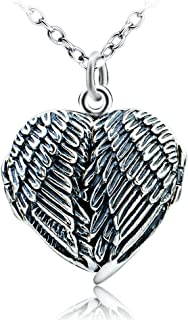 Locket Necklace That Holds Pictures Sterling Silver Heart Locket Necklace for Girls Picture Locket Necklace for Women