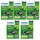 Best CD Printers - Pack of 5 Casio Black Ink Ribbon Cassette Review