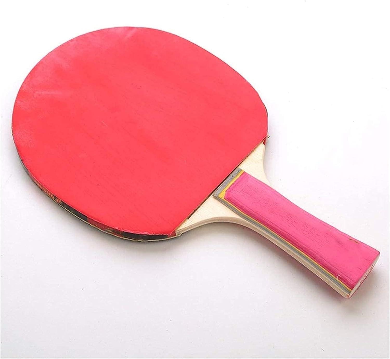 ZFQZKK Ping pong paleta raquetas de tenis de la mesa de entrenamiento de la mesa de la mesa raquetas de tenis de un solo paquete de la competencia de la competencia en las raquetas de tenis de la mesa