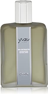 CARON PARIS Yuzu Man Eau de Toilette Spray, 4.2 Fl Oz
