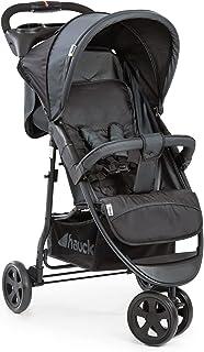 Hauck Citi Neo II, 3-hjulig barnvagn upp till 25 kg, med liggläge från födseln, kompakt hopfällning, låg vikt på endast 7,...