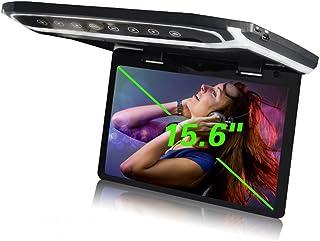 YMPA 39,6 cm 15 Zoll Inch TFT Full HD Deckenmonitor Monitor hohe Auflösung 1080 P mit USB Port SD Card Reader HDMI Anschluss für Bus Auto und Wohnmobil KFZ PKW LCM FD15USB