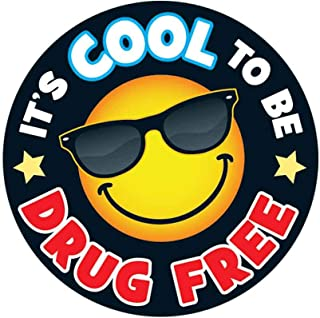 Positive Promotions Inc. It's Cool to Be Drug Free Theme Day Stickers-Includes 200 Stickers Per Roll